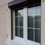 DRIA FENÊTRES_fenêtre en PVC blanc avec croisillons