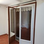 DRIA FENÊTRES_porte-fenêtre en PVC bicolore avec soubassement